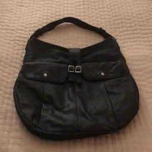 JCREW leather Hobo bag